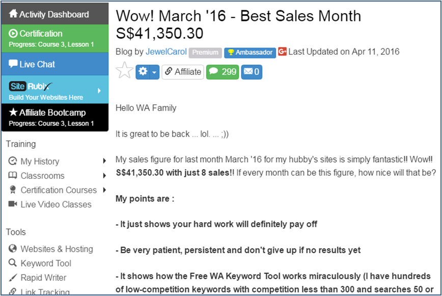 Best Sales Month